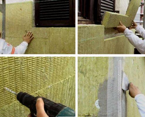 Izvođenje Fasade U 10 Koraka Kamena Vuna Idealna Izolacija Za Fasadu